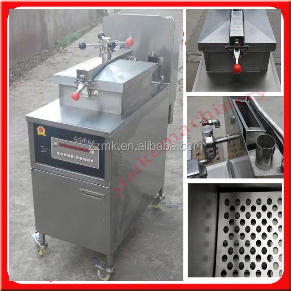Stainless steel pressure fryer for home use
