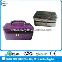 PU leather professional beauty case