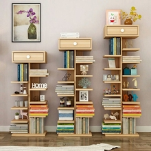 High Quality Wooden Furniture Bookshelf Tree Style Bookcase
