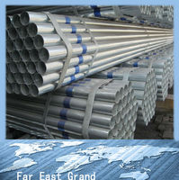 Distributor required galvanized steel pipe metal tube prefab houses oriental trading wholesale