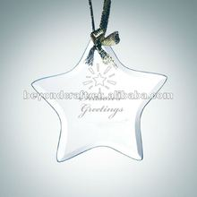star crystal pendants,crystal star hanging ornaments