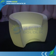 GLACS Control by Computer Unique Sectional Plastic Sofas 2015 LED Illuminated China Modern Furniture for sale