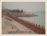 China hot sale wpc garden house/wall cladding/railing