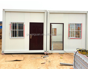 Nepal price Expandable Flat Pack Prefab Modular Folding Container House