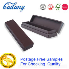 matte black paper decorative high end handmade rigid cardboard packaging box with logo printed