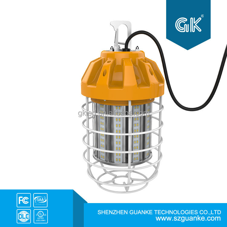 80W Temporary Portable String 80W LED Work Light Lighting DLC UL 135LM/W
