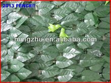 2013 factory Garden Fencing top 1 Garden decoration fence pvc clear calander film fence
