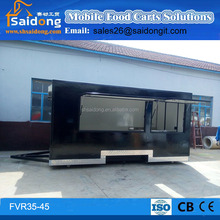 Popular Style Hamburger/Sandwich/Coffee/Drink/Hot Dog/Chips/Chocolate Sale Cart Kiosk