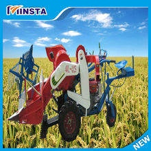 tractor mounted rice harvester combine rice harvester