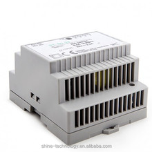 2016 HOT!!! DIN rail transformer 12v 24v 100w power supply ac to dc switching power supply