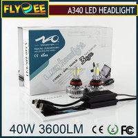Energy Saving 36W 40W 3 Sides Auto LED Headlight H4 H11 9005 LED Head Lamp