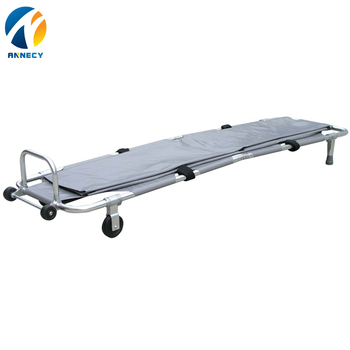 AC-FS017 Portable Ambulance Medical Folding stretcher with stand for sale