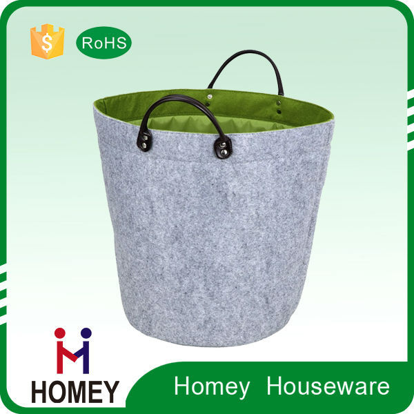 Novel Product Best Quality Worthy To Buy Customised Felt Laundry Tote Bag