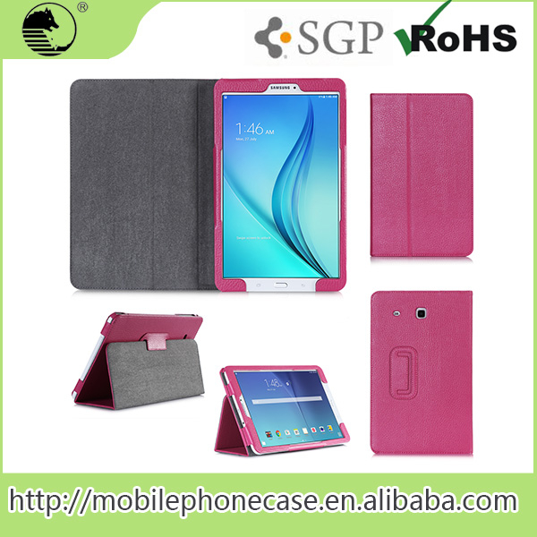 China Supplier 9.6 inch Leather Tablet Case For Samsung Tab E T560
