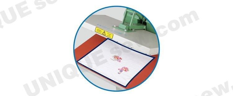 Manual T-shirt heat press transfer machine