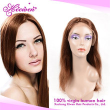 Heewen Silk Base Full Lace Wig with Baby Hair, Silky Straight Wave Brazilian Human Hair Overnight Delivery Lace Wig