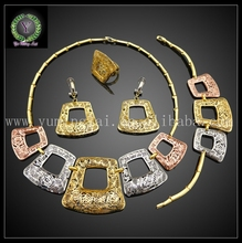 FHK2685 New Arrival fashion jewelry 2017,gold jewelry sets women ,dubai gold jewellery designs photos