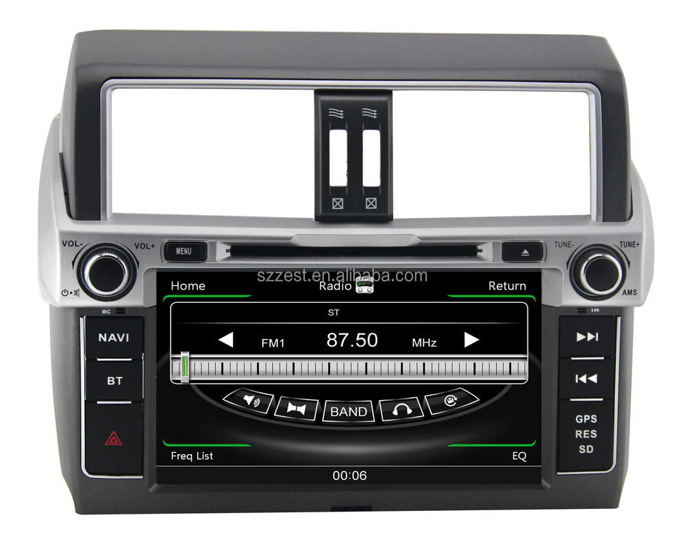 New product car entertainment system for toyota land cruiser prado 2014 with car dvd gps navigation system