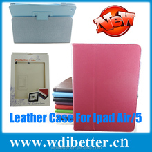 For ipad Price Cheap On Alibaba China For Apple ipad5 Stand Leather Case