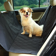 Skidproof Backing Micro Suede Pet Bench Car Seat Cover Products