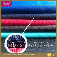 woven technology 100 polyester elastic clothes fabric from China factory
