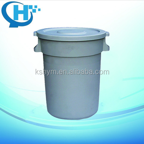 120L circular high quality handmade dustbin