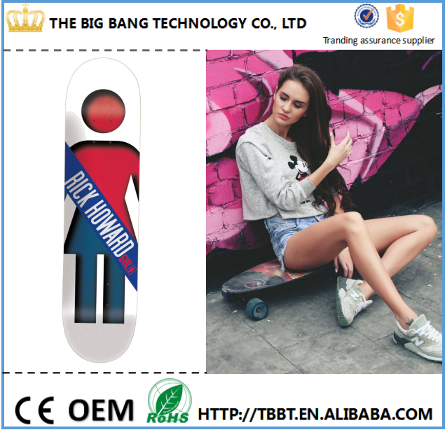 China supplier Multi-color blank wood skateboard decks wholesale custom complete finger skateboard factory price