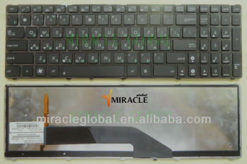 Russian layout notebook keyboard for Asus K50 K51 K50AB K50C K50IN K50IJ K50IN K60 K61 K62 K70 K70ij K72 with frame backlight
