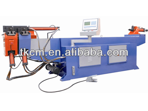 Hydraulic NC semi auto Power engine steel tube bending machine tool