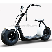 2016 Most Fashion Citycoco Electric 1000W 60V Scooter with 9.5inch Wheel