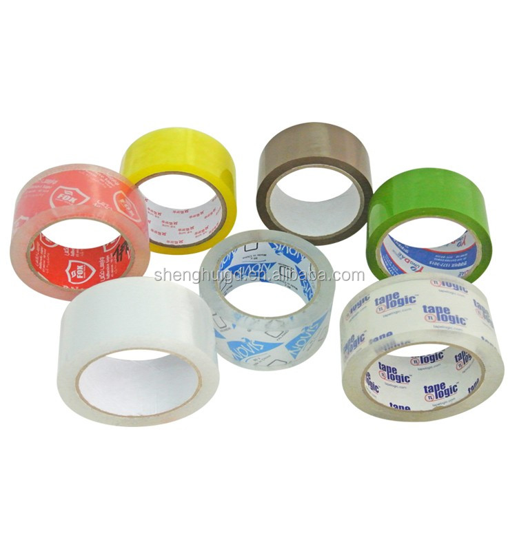Hot Sale 48mmx1000m Transparent Packaging Box Tape