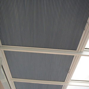 Waterproof Motorized Blackout Honeycomb Awning Retractable Roof Systems