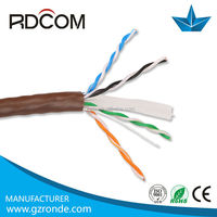 High speed 305m 0.5mm ethernet cat5e/cat6 network jumper cables /network jumper wire cable