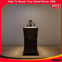 High-end T-glass jewelry display furniture shop decoration
