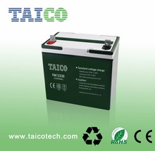 Deep Cycle 12V 33AH Battery for Solar Powered Battery Heater
