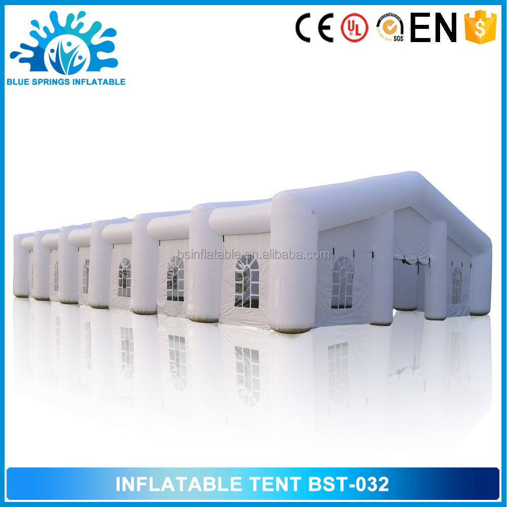 Blue Springs Manufacture Customized Housing inflatable structure tent