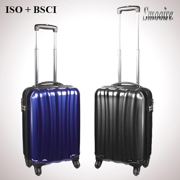 new products 2015 PC trolley eminent luggage for sale