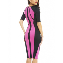 halfter joint fabric decent slim waist popular women dress