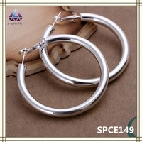Circle Hoop Earring Buy Silver Jewelry From China