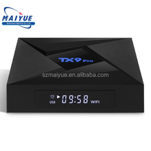 Smart TX9 PRO Android 7.1 TV Box sexy video full movie download Octa Core OTT Smart TV Box