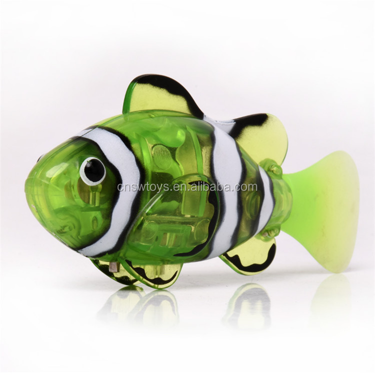 YK0809215 New fish toy kids electronic intelligent robot fish toy funny rc fish