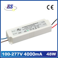 48W 4A 220V to 12V AC DC Constant Current LED Driver Power Supply