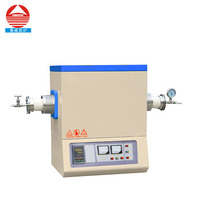 lab heating equipments 1600c cvd heat treatment tube furnace