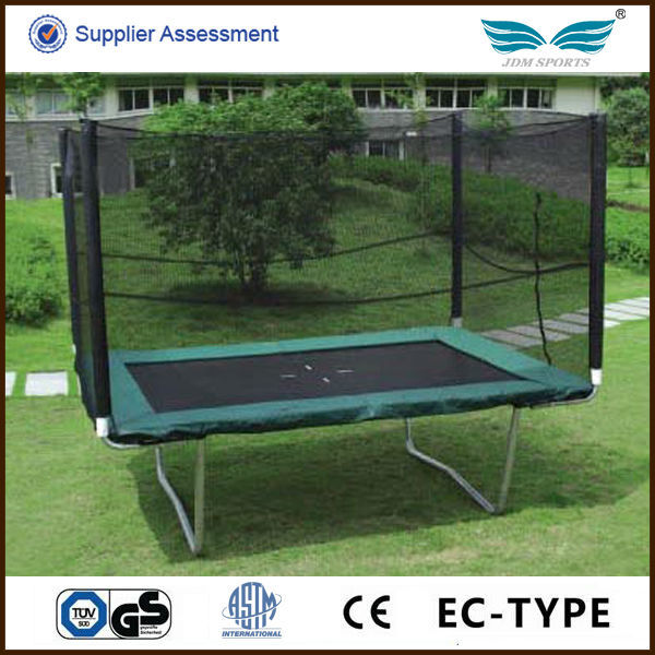 Large professional outdoor rectangle trampoline