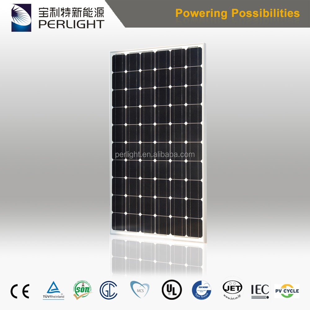 China Factory High Efficiency 290w Solar Panel Best Price