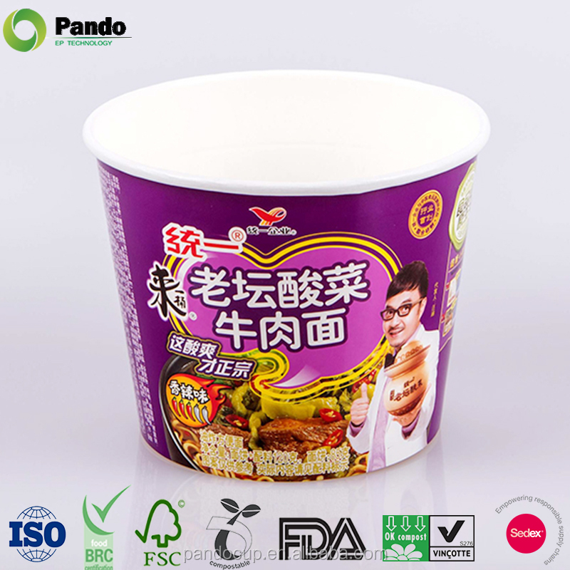 Disposable Take Away Cheap Paper Noodle Box