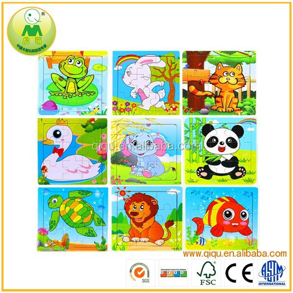 Carton Animal Jigsaw Puzzle Baby Wooden Puzzle <strong>1000</strong>