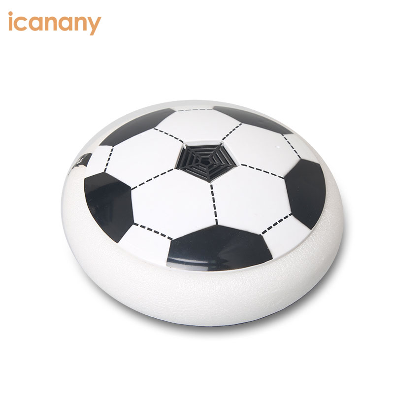 Air Power Hover Hockey Soccer Disc Parent-child Game Soccer Equipment with Foam Bumpers