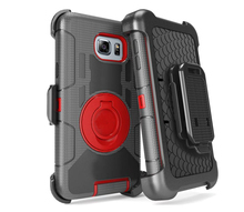Hard PC + Silicone Armor Cases For Samsung 5 Note Hybrid Phone Case For Samsung Galaxy Note 5 Shockproof Cases Cover with holder