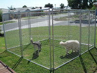 Heavy duty welding wire dog kennel